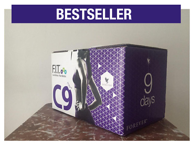FOREVER LIVING - Clean 9 Pack - C9 Kit Cleanse 9 Day - Chocolate / Vanilla