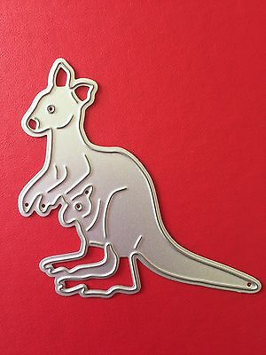 NEW• KANGAROO & JOEY DIE For Use With Cuttlebug Or Sizzix