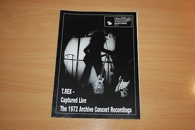 Rare Issue Of Marc Bolan / T. Tex Fanzine 'rumblings' Magazine No. 2