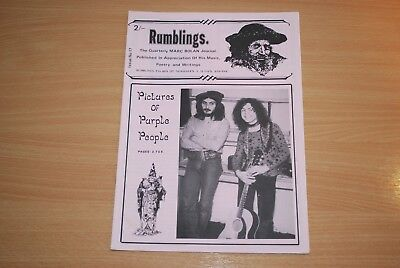 Rare Issue Of Marc Bolan / T. Tex Fanzine 'rumblings' Magazine No. 17