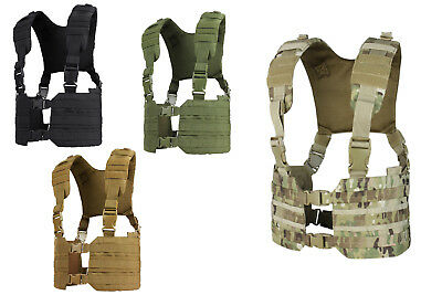 Condor Ronin Chest Rig MCR7 Fully Adjustable Molle/PALS Harness Airsoft Military
