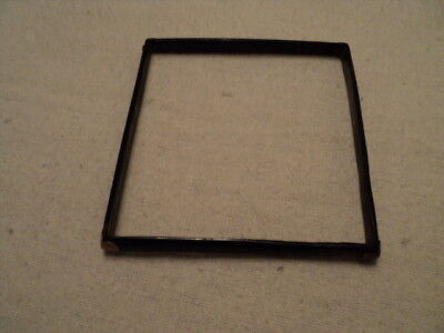 Antique Small Faux Tortoiseshell & Rose Gold Photo Frame