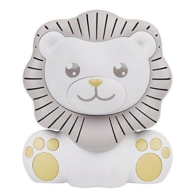 Nursery Sound Machine with Nightlight Lion Form Decor Soothe your baby to sleep