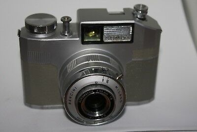 Vintage Bencini Comet camera Italy Rare grey colour