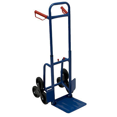 NEW! 200kg Heavy Duty 6 Wheel Stair Climber Sack Truck Hand Trolley