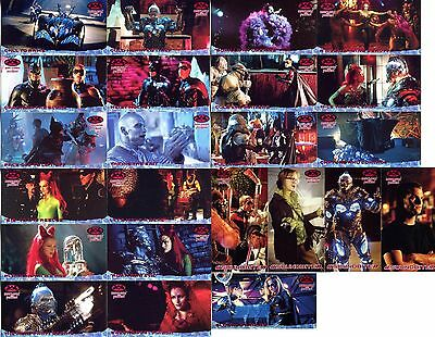 Batman and Robin Widevision - 32 Different Cards (Skybox, 1997)