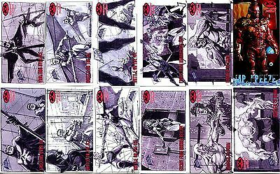Batman and Robin Widevision - 11 Different Storyboard Cards & 1 Profile Card :P5