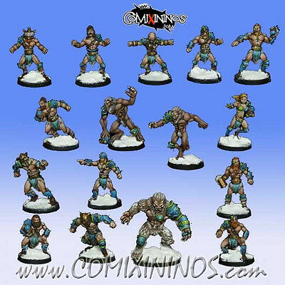 Blood Bowl / Fantasy Football Team Icelanders Norse von Roll Jordan