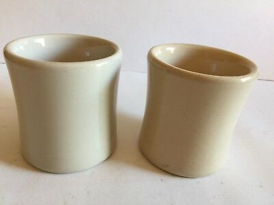 Vintage Lot of 2 VICTOR Restaurant Diner Ware Thick Heavy Coffee Cup Mug