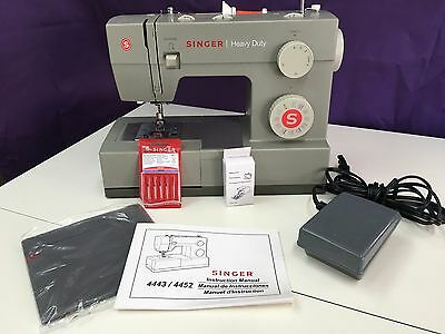 SINGER 40 HEAVY DUTY SEWING MACHINE Authorized Singer Dealer Classy Brother Sewing Machine Authorized Dealer