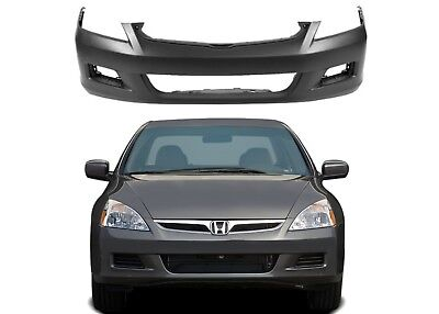Replacement Front Bumper For 2006-2007 Honda Accord SEDAN ONLY New Free Shipping