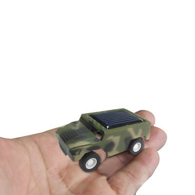 3.8*3*2.1cm Mini Solar Charging DIY Toy Racing Car For Children