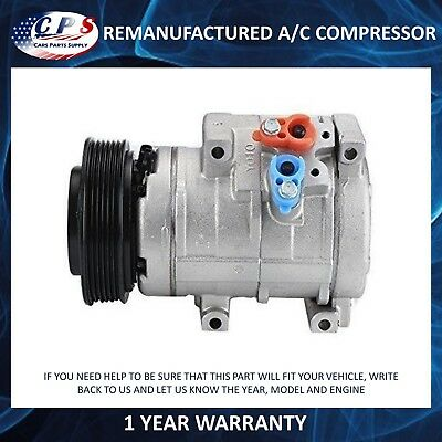 AC A/C COMPRESSOR For CO 10854C 8832008051 04-06 Toyota Sienna 3 3L
