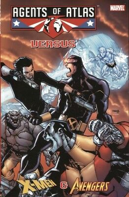 Agents Of Atlas Versus Marvel Comics Tpb New/unread