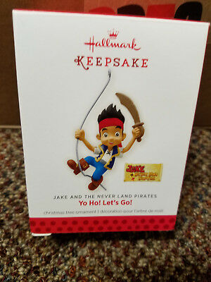 Hallmark Keepsake YO HO! LET'S GO! Jake and the Never Land Pirates Ornament