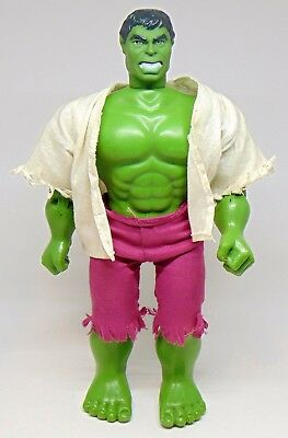 "Vintage 1978 Mego 12"" The Incredible Hulk Action Figure Complete Used"