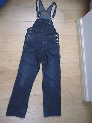 Unbranded vintage jeans/dungarees one piece/jumpsuit /trousers size S
