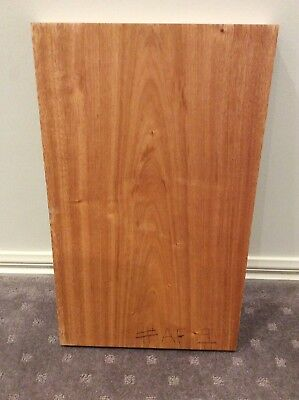 African Mahogany Guitar Body Blank. ONE PIECE. Luthier, Craft. Timber #AF9