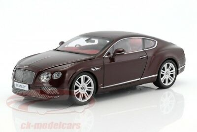 Paragon 1/18 2016 Bentley Continental GT Coupe(RHD) Burgundy PA-98221R