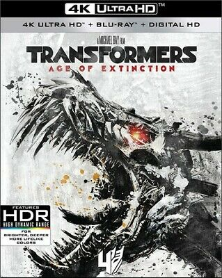 Transformers: Age Of Extinction - 3 DISC SET (2017, Blu-ray NEUF) (RÉGION A)