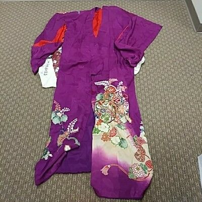 Women's Vintage Japanese Kimono Robe Made and Purchased in Japan