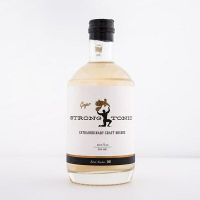 Strong Ginger Tonic Syrup 375ml