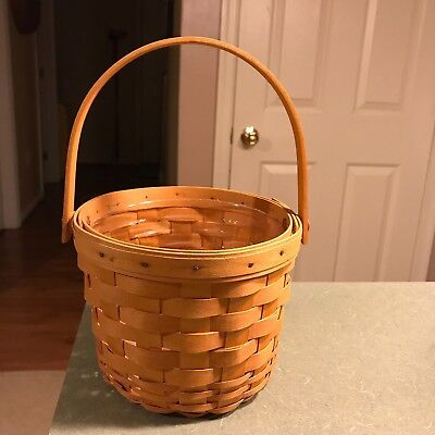 2000 Longaberger Small Fruit Basket   L#6