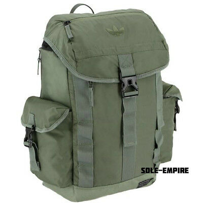 a8ee4cdac2e4 Adidas Originals Urban Utility Backpack Army Green Olive New With Tags Back  Pack