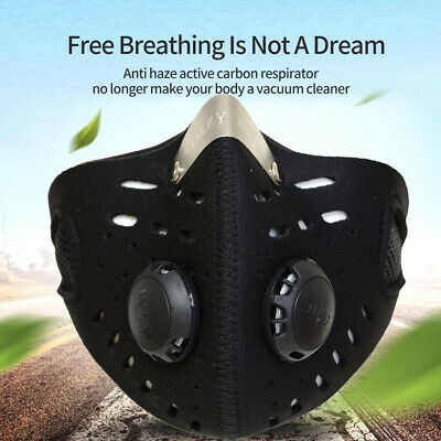 Neoprene Anti Dust Cycling Ski Outdoor Sports Half Face Mask Neck Warm Velcro