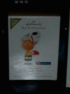 2008 SUPPERTIME! Snoopy Charlie Brown NEW Hallmark Peanuts Limited Edition DISH