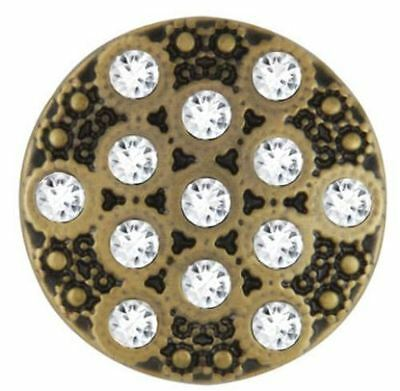 """Ginger Snaps """"Cosmic Antique Brass"""" SN08-06 Buy 4 Get One $6.95 Snap Free"""