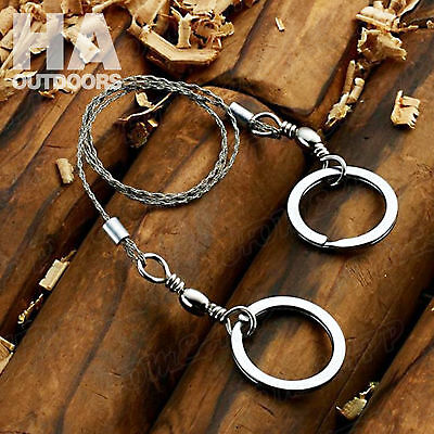 5X Portable Emergency Survival Gear Steel Wire Saw Outdoor Camping Hiking Tool