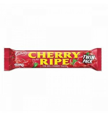 Cadbury Cherry Ripe Large 80g Pck 36