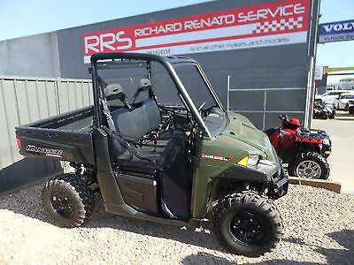 Polaris Ranger Diesel 1000HD EPS (2017 Model) Save $2000