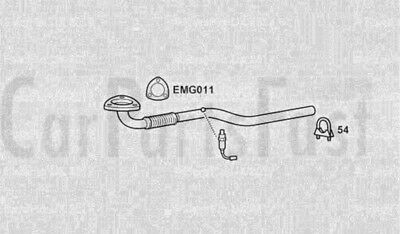 12//09 A16XER EXHAUST FRONT DOWN FLEX PIPE VAUXHALL ASTRA 1.6i 16v Mk.6 Hatch
