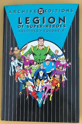 Legion of Super-Heroes Archives Volume 2 (1992) Hardcover DC Archive Ed