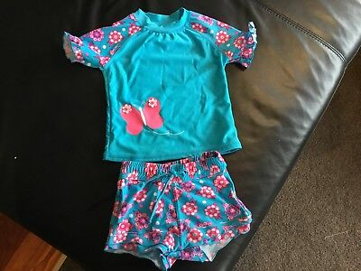 Gorgeous Coloured Swimming Set, Pumpkin Patch - Size 1