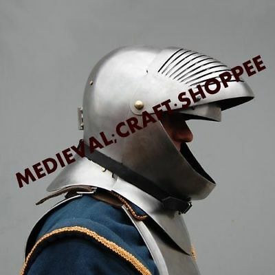 Dragon-vinking-Medieval-Barbute-Helmet-Armour-Roman-knight-Helmets-with-Liner