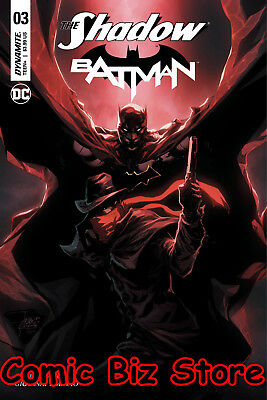 The Shadow Batman #3 (Of 6) (2017) 1St Printing Tan Variant Cover D Dc/dynamite