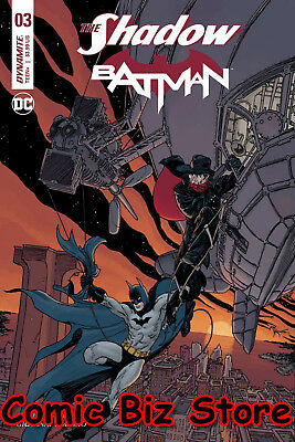 The Shadow Batman #3 (Of 6) (2017) 1St Printing Kaluta Cover A Dc/dynamite