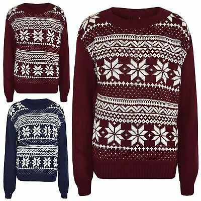 New Childrens Kids Girls Boys Xmas Christmas Novelty Jumper Sweater Star Wars
