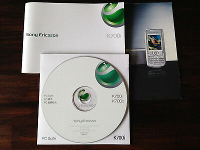 Sony Ericsson K700i Guide Anleitung PC Suite CD