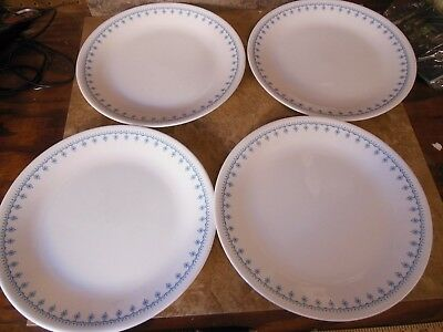 CORELLE SNOWFLAKE BLUE GARLAND Dinner Set For 4 Plus Extra Plates & Enchanting Corelle Blue Snowflake Dishes Gallery - Best Image Engine ...