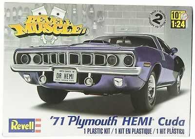 "Revell Monogram 1 61 Cm ""1971 Hemi Cuda 426 Muscle Car Multicolore"