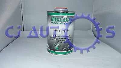 Millaco Polar 2K Fast Drying Accelerator 1L Litre Rocket Lacquer Paint Speeder