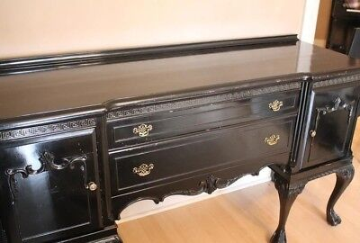 PRICE DROP!! Lovely Antique CHIPPENDALE SIDEBOARD With 6 Iconic Ball & Claw Feet