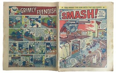 RARE -SMASH!- 5th FEBRUARY 1966 -FIRST ISSUE No.1- ODHAMS COLLECTORS COMIC BOOK