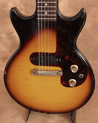 1963 Vintage Epiphone Olympic Electric Guitar w Gig Bag Melody Maker RARE