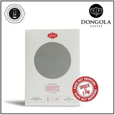 STANDARD ABLE DISK Stainless Steel Filter for AeroPress Coffee & Espresso Maker