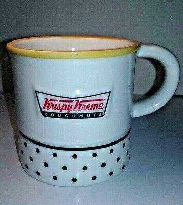 Collectable KRISPY KREME® COFFEE MUG w/ a Mini Ceramic Donut Inside